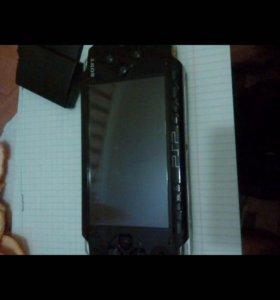 Псп PSP 1001 plus с чехлом