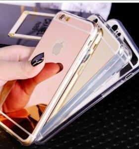 Зеркало чехол iphone