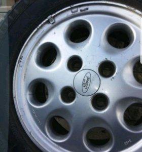 Диски литые с резиной Ford Sierra