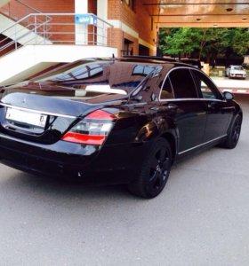 Бампер задний для Mercedes w221