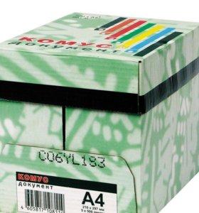Бумага А4 Комус Premium А класс