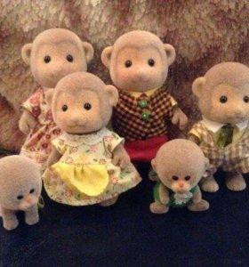 Сильваниан Фэмили семейка обезьянок