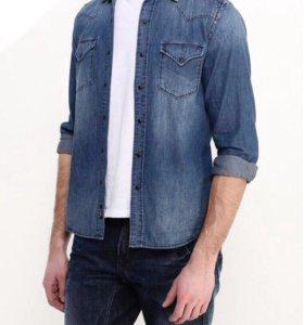Рубашка Replay, джинсовая.