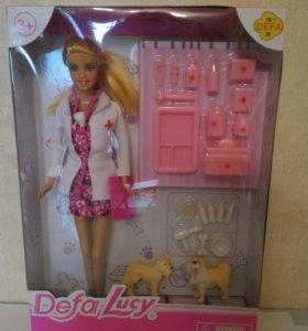 Новые куклы Барби, с аксессуарами.