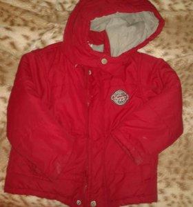 Демисезонная куртка р.98
