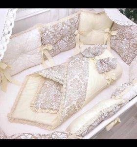 Одеялко на выписку🐣🍼