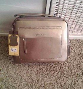 Женская сумка сумочка портфель кожа кожаная новая