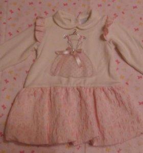 Платье на 68-74 размер