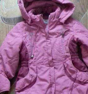 Дет куртка осень-весна