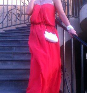Шикарное платье от atos lobardini 42-44 🇮🇹