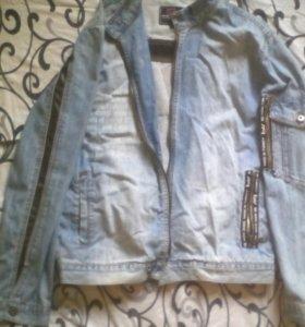 Куртка джинсовая б/у
