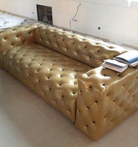 Диван Soft Gold новый от изготовителя для кафе