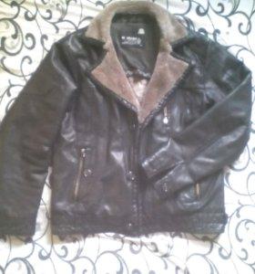 Куртка на меху б/у торг
