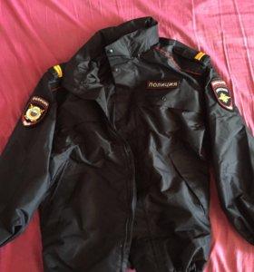 Куртка ветро-влагозащитная мвд
