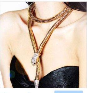 Ожерелье змея (золото, платина)