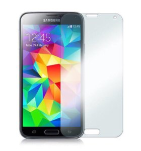 Защитное стекло на Samsung S5 Mini