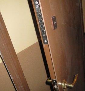 Металлическая входная дверь, коробка 97*209см