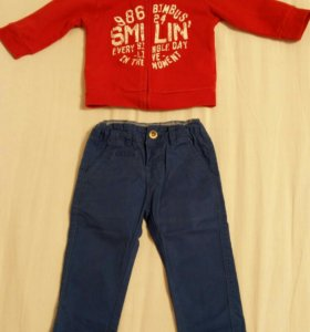 Детские брюки и кофта.