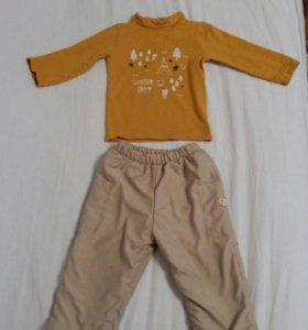 Детские брюки и водолазка