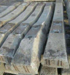 Шпалы бетонные