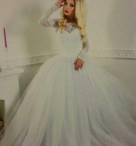 Новое дизайнерское свадебное платье