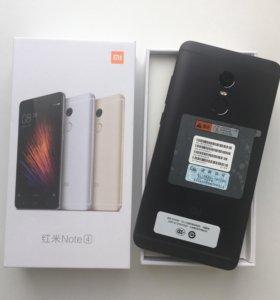 Xiaomi Redmi Note 4 3/32 гб, С Гарантией