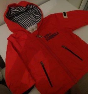 Детская курточка 74см