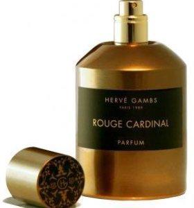 Rouge Cardinal Herve Gambs Paris тестер
