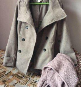 Пальто и снуд