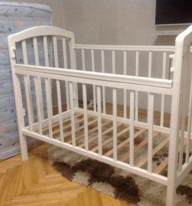 Кроватка+бортики с постельным бельём (набор)