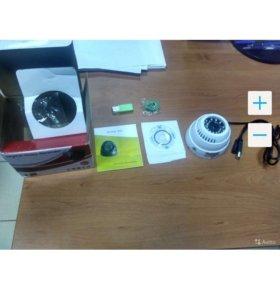 Камера  для видеонаблюдения с флеш картой