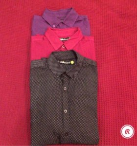 Рубашки  мужские Befree