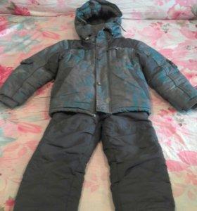Куртка с комбинезоном детсая