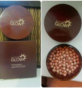 Румяна - шарики, оттенок Розовая бронза