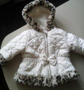Куртка для девочки 1 год