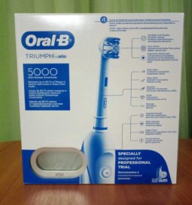 Зубная щётка oral b triumph + smart guide