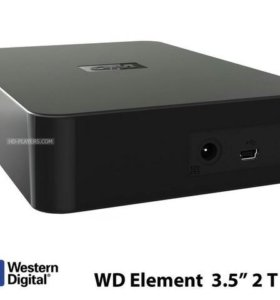 Внешний жесткий диск WD 2Tb