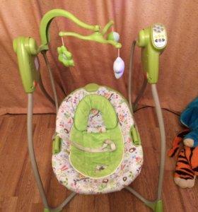 Электрические детские качели