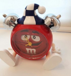 Часы+будильник M&M's