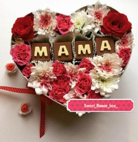 "Сладко цветочные коробочки ""Sweet_flower_box"""