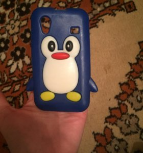 Чехол-пингвин + пленочка