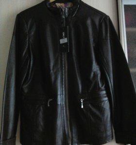 Курточка новая эко кожа.