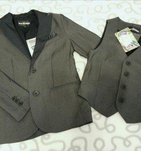 Новый пиджак Acoola 128 и жилет 122