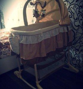 Кроватка-колыбель Babyton