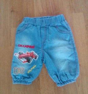 Дет.джинсовые бриджи на мальчика