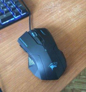 Бесшумная игровая мышь