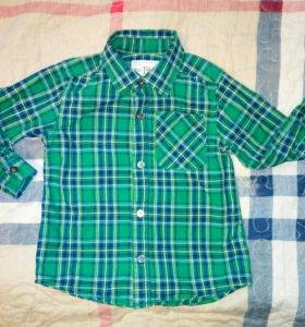 Рубашка для мальчика 91-99 см