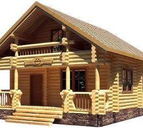 Строительство бань, беседок и домов из бревна