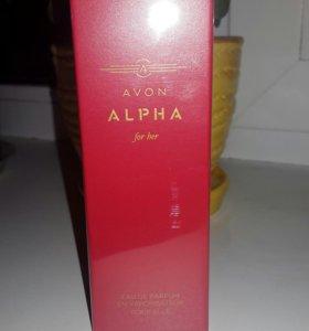Парфюмерная вода Avon Alpha женская и мужская