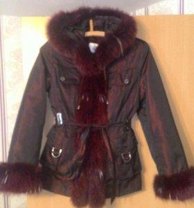 Куртка зима новая.44-46р